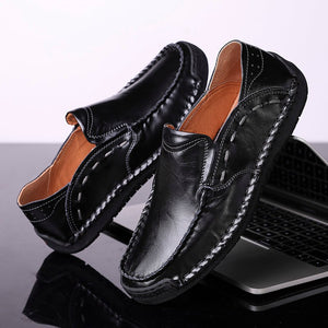 Genuine Leather Comfortable Casual Boat Shoes