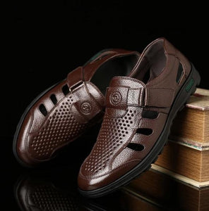 Leather Business Casual Sandals