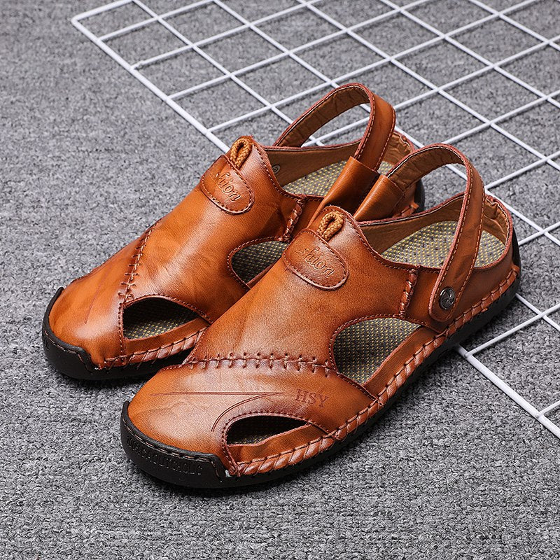 Men's Summer Leather Sandals