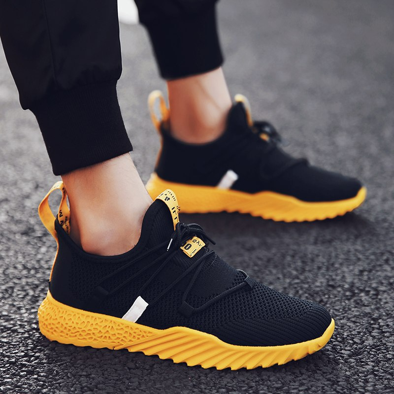 New 4D Print Men Running Shoes