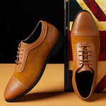 Men's Quality Patent Lace Up Leather Shoes