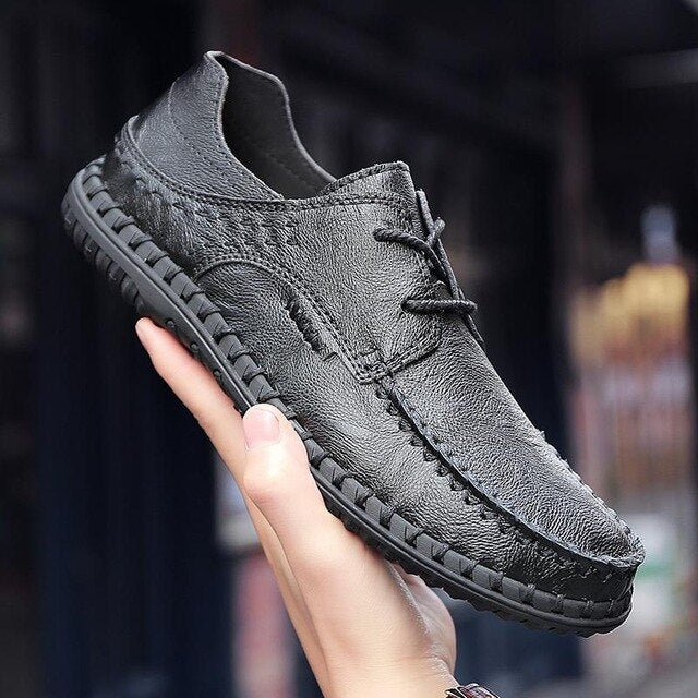 Luxury Fashion Men Genuine Leather Shoes