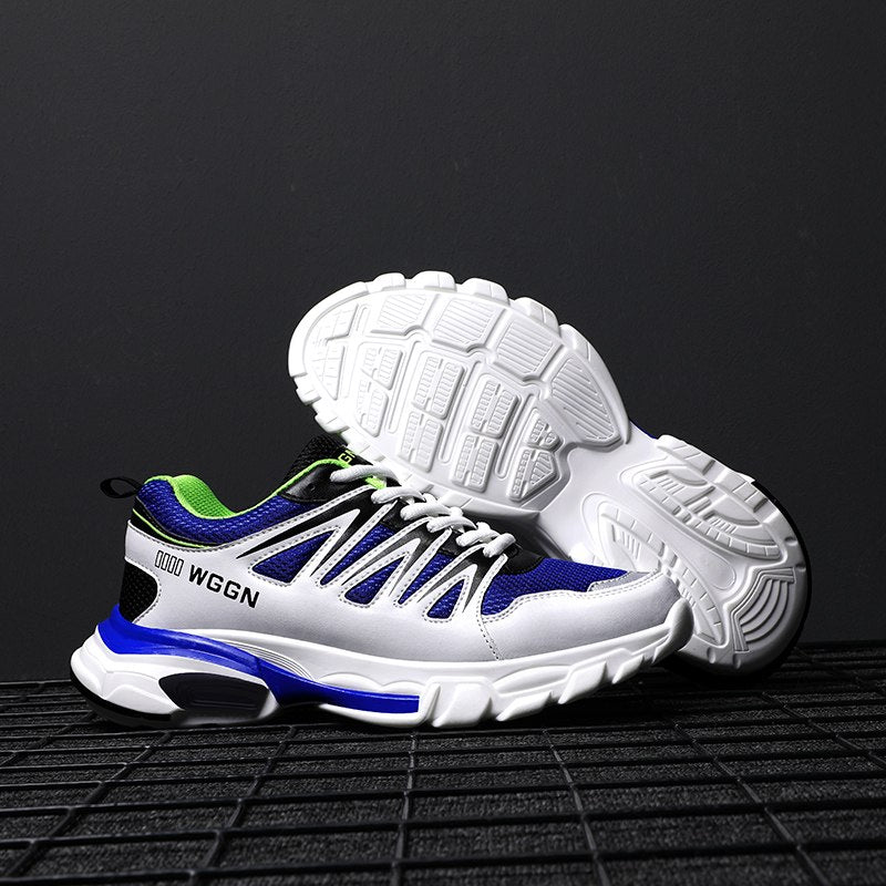 Men's Outdoor Lace Up Comfortable Sole Non-slip Sneakers