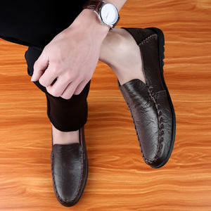 Men's Summer Genuine Leather Loafers