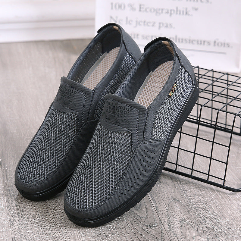 Men's Summer Style Mesh Flat Loafers