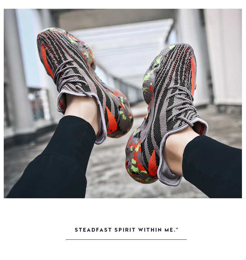 2019 Fashion Men Comfortable Breathable Dad Shoes