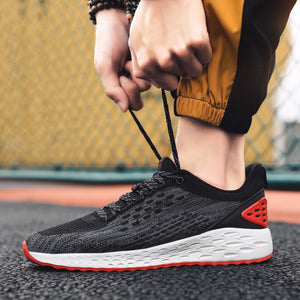 Male Comfortable Lace Up Casual Shoes