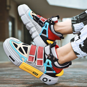 Mens Superstar Ankle Platform Sneakers