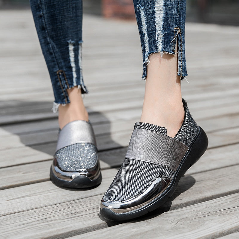 2019 New Brand Women Casual Loafers