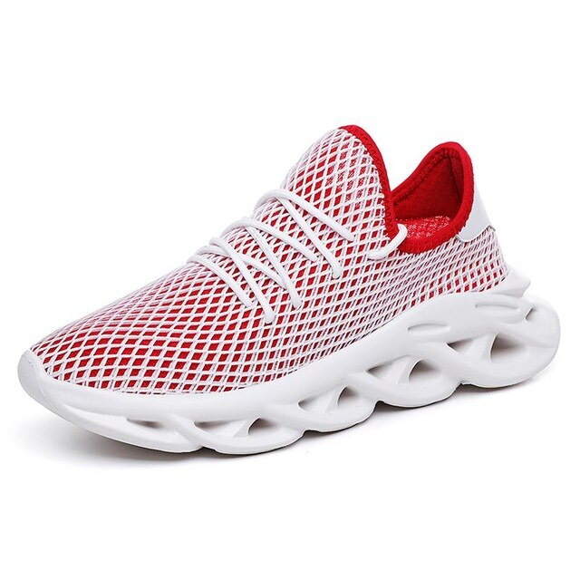 2019 New Mesh Breathable Men Shoes
