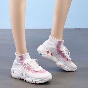 Fashion Women's Breathable Hole Casual Sneakers
