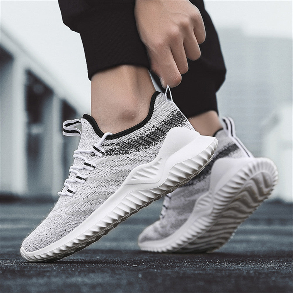 2019 Breathable Fly Weave Male Shoes