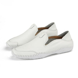 Hot Sale Genuine Leather Comfy Flats