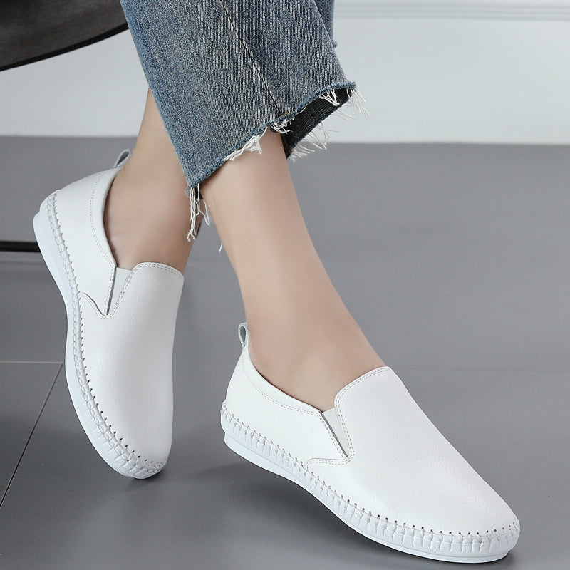 Women's Fashion Leather Loafers