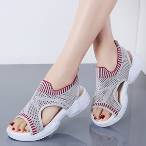 2019 Summer New Female Wedge Sandals