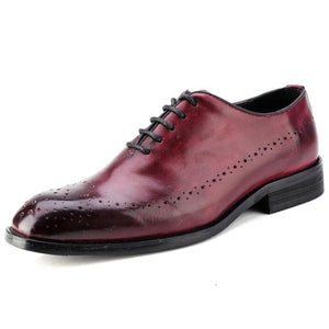 Italy Designer Handmade Vintage Oxford Shoes