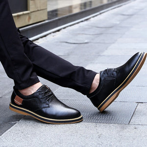 New Men Genuine Leather Oxford Shoes