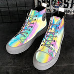 Reflective Colorful Glare Night Safe Shoes