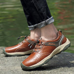 Men's Fashion Leather Flat Shoes