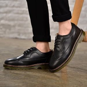 Genuine Leather Fashion Casual Shoes
