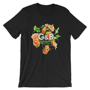 Short-Sleeve ( regular fit ) Rose Gifted and Blessed Unisex T-Shirt - righteous-and-dope