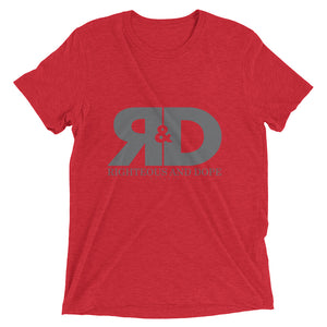 Vintage Tri-Blend (fitted) R&D Short sleeve t-shirt - righteous-and-dope