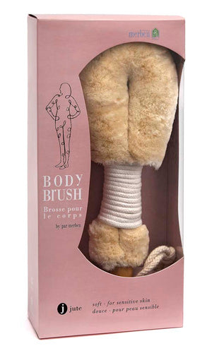 Jute Body Brush by Merben