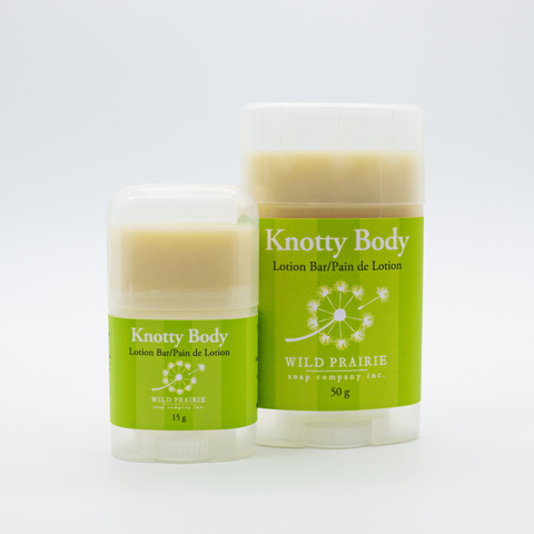 Knotty Body Lotion Bar