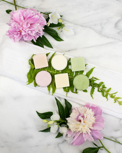 Shampoo & Conditioner Bar Set