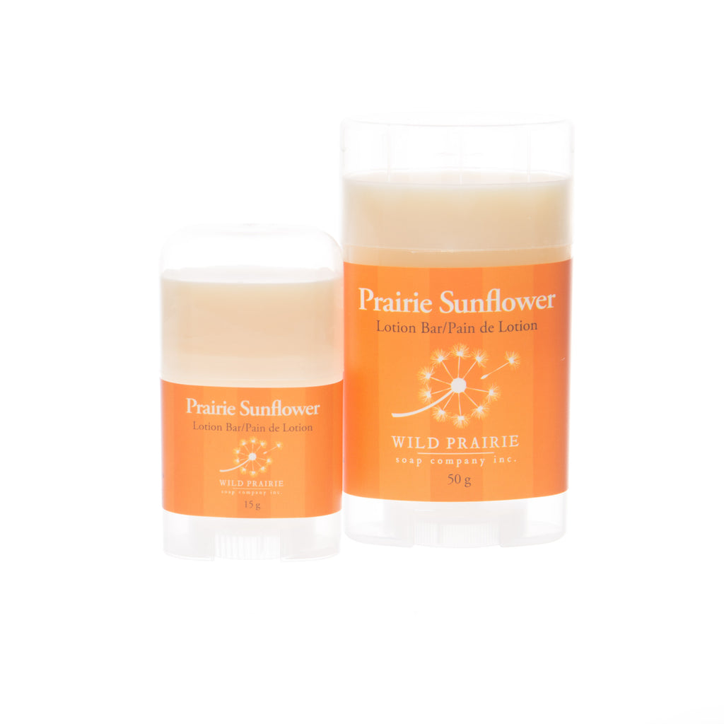 Prairie Sunflower Lotion Bar