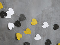 Wedding Decoration ideas - heart hanging banner