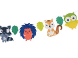 Woodland theme decoration - Perfect for nursery wall and birthday party decor