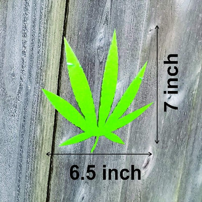Marijuana Pot Leaf Weed Banner Wall Decor Celebrate 4/20 in style cannabis party supplies