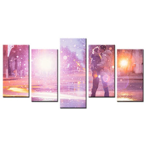"Custom ""Moment Forever"" Five Piece Canvas"