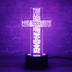 LED Cross Lamp