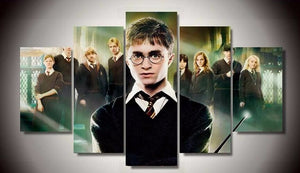 Deathly Hallows Five Piece Canvas