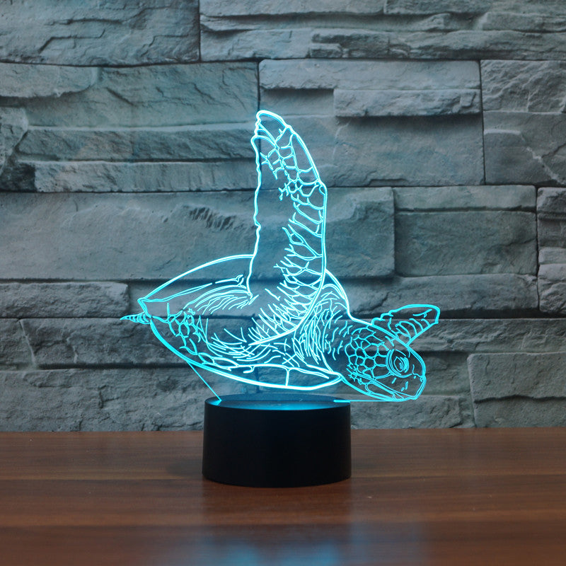 LED Sea Turtle Lamp