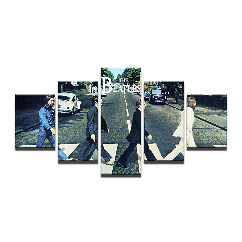 Beatles Album Cover 5 Piece Canvas