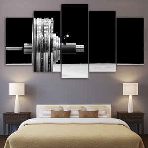 Power Lifting Five Piece Canvas