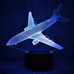 LED Airplane Lamp