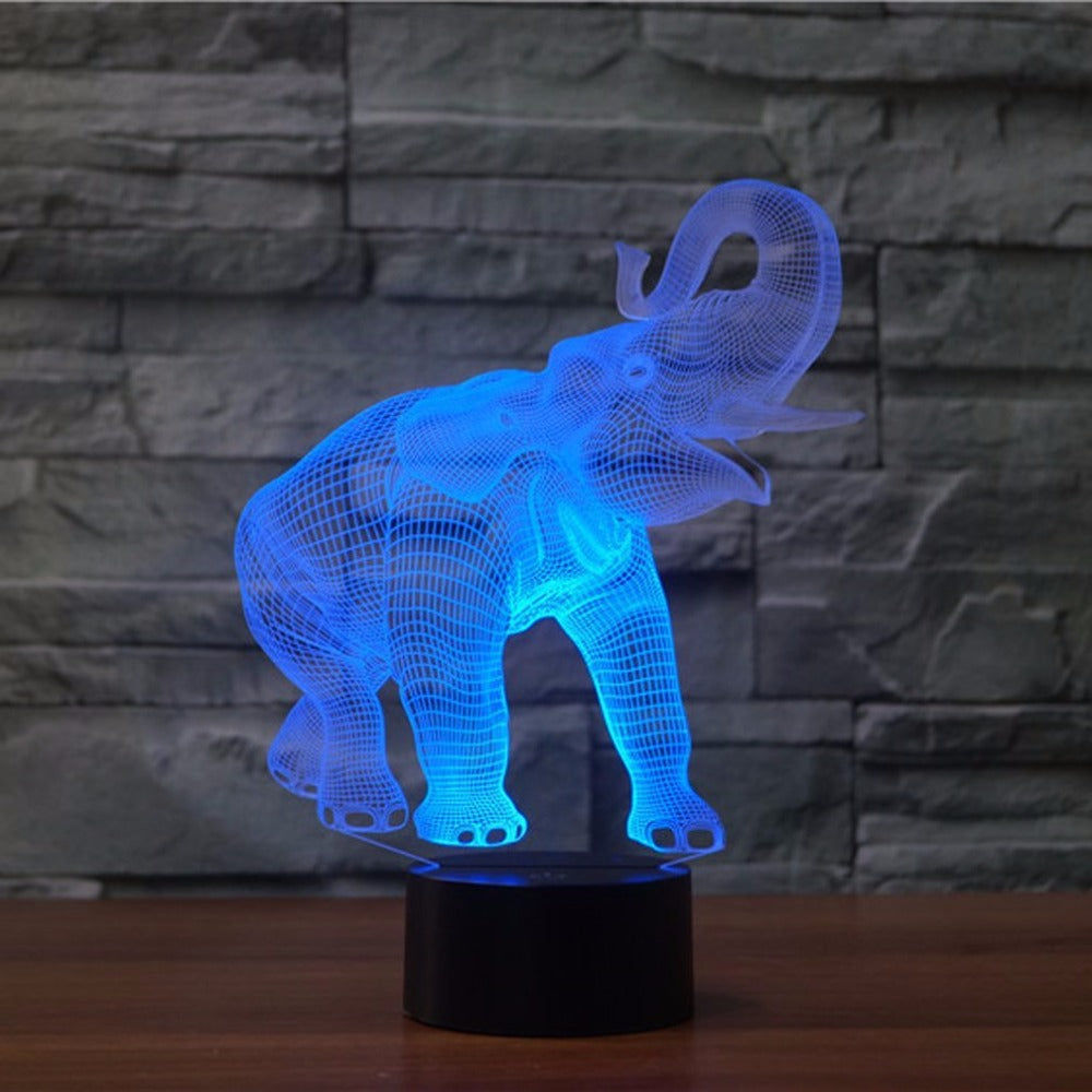 LED Elephant Light
