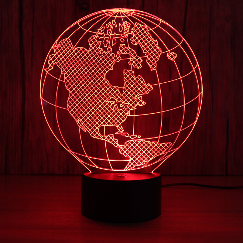 LED Planet Earth Lamp