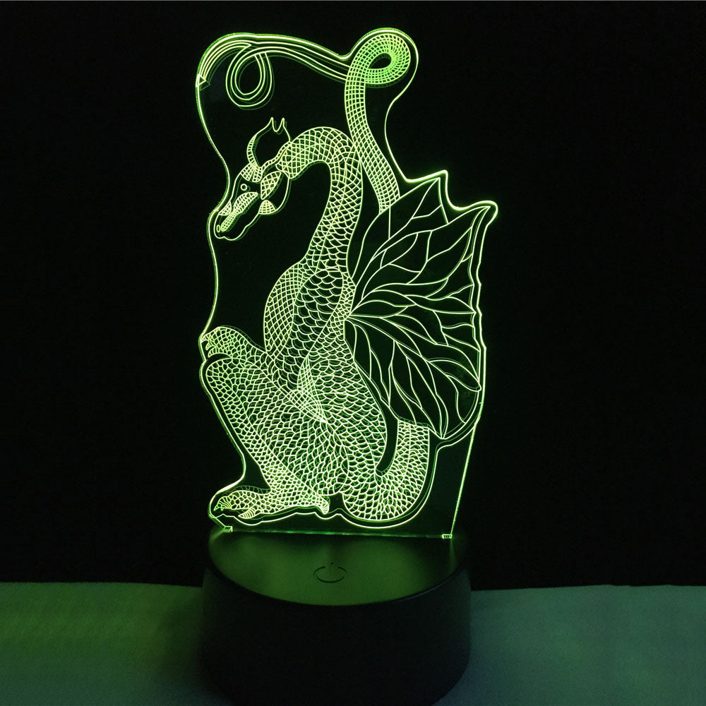 LED Chinese Dragon Lamp