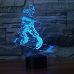 LED SnowBoarding Lamp 2
