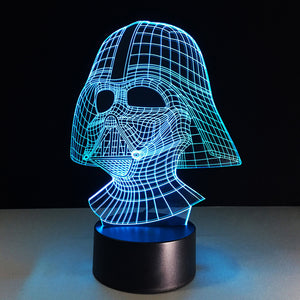 LED Darth Vader Lamp
