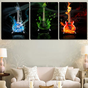 Rockstar Three Piece Canvas
