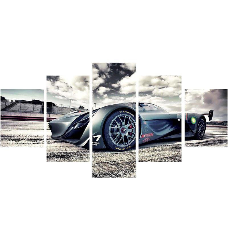 Saleen Sports Car Five Piece Canvas