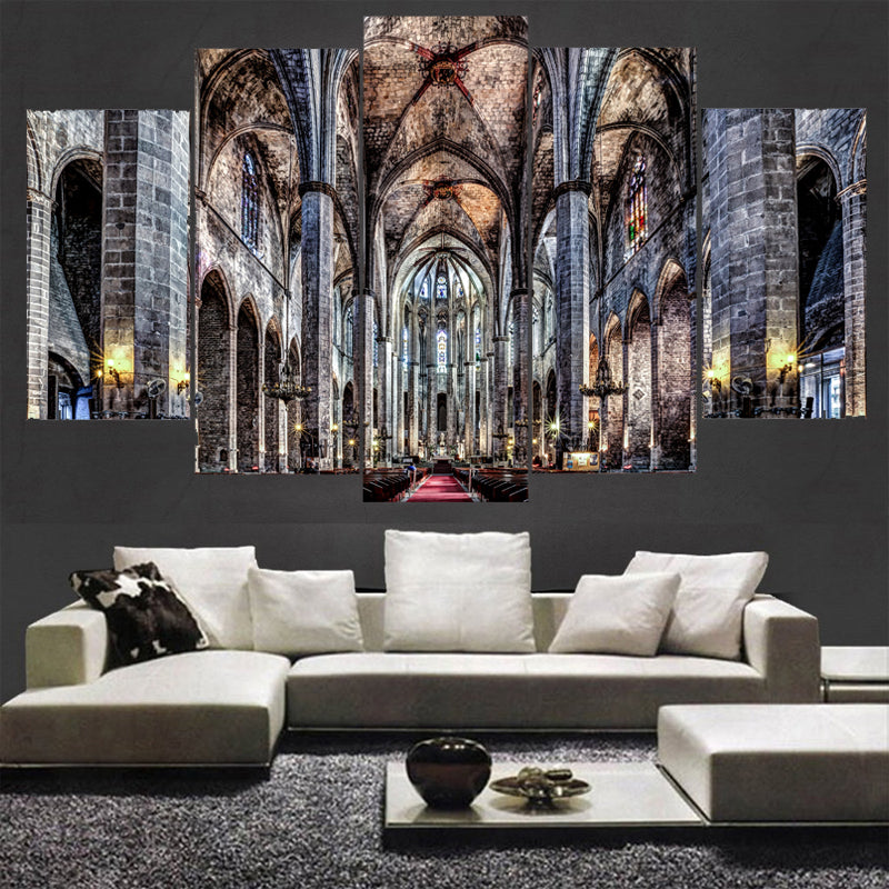 Cathedral Five Piece Canvas