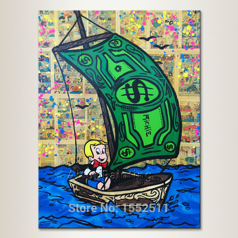 Money Boat Graffiti Single Piece