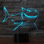 LED Great White Shark Lamp